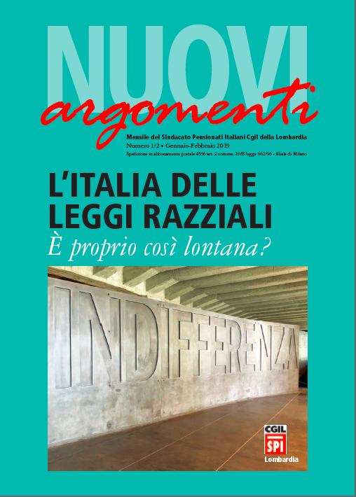 Nuovi argomenti l 39 italia delle leggi razziali e 39 proprio for Chi fa le leggi in italia